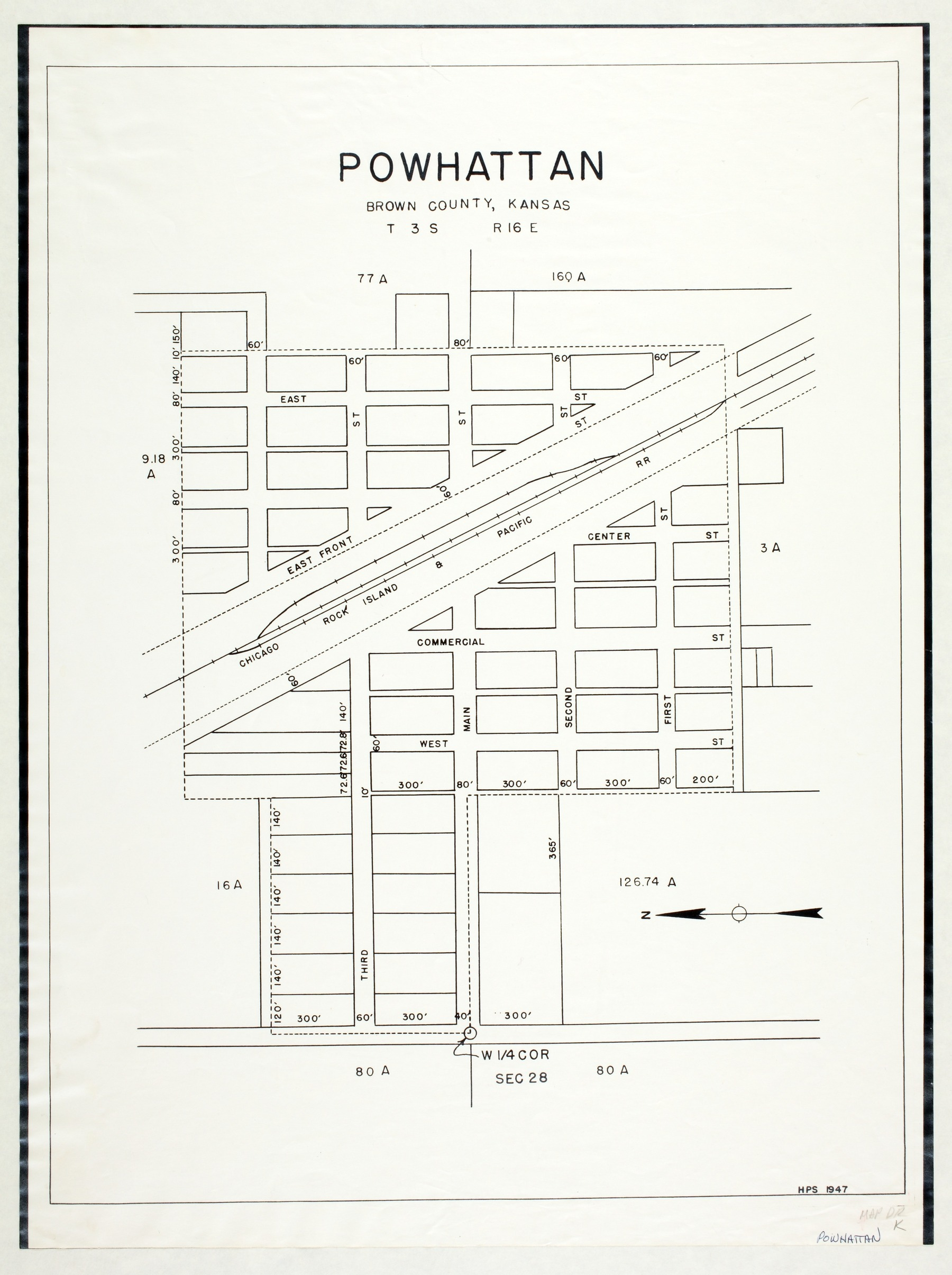Powhattan, Brown County, Kansas
