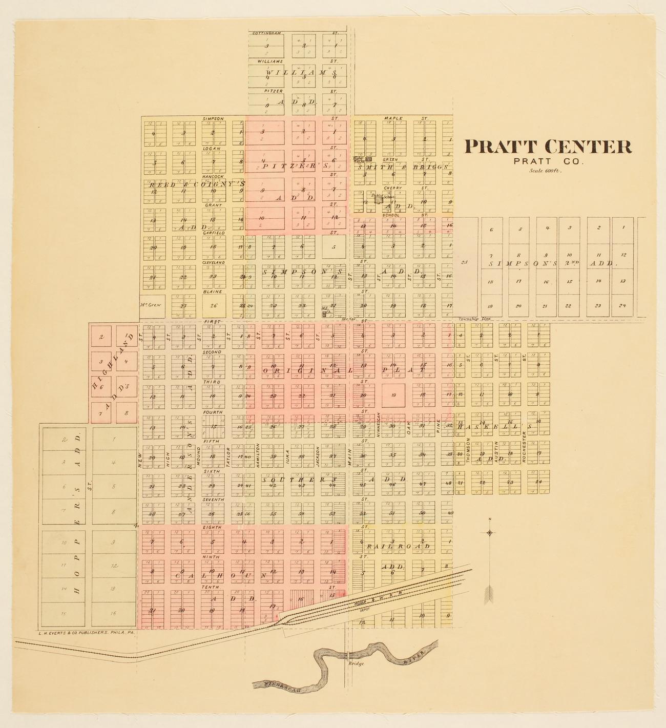 Pratt Center, Pratt County, Kansas