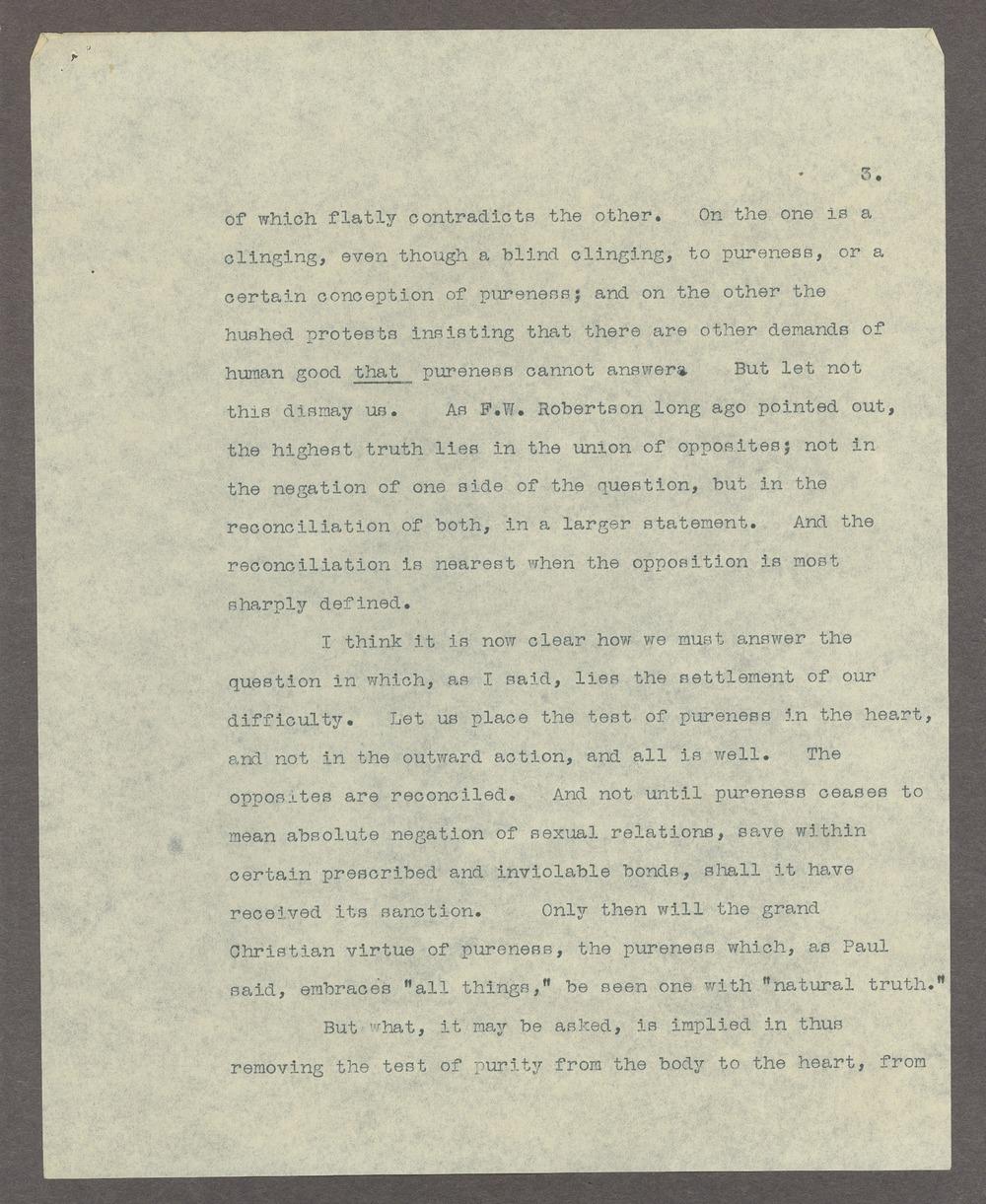 Henry Havelock Ellis papers - 3