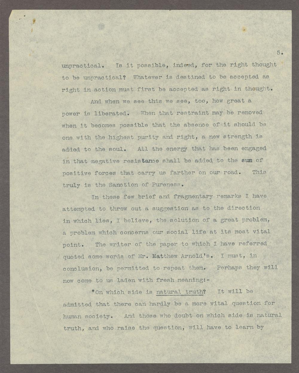 Henry Havelock Ellis papers - 5