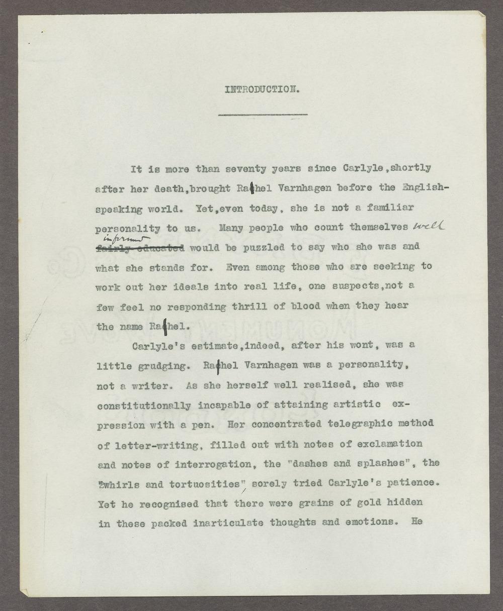 Henry Havelock Ellis papers - 2