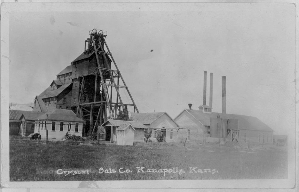 Crystal Salt Company in Kanopolis, Kansas