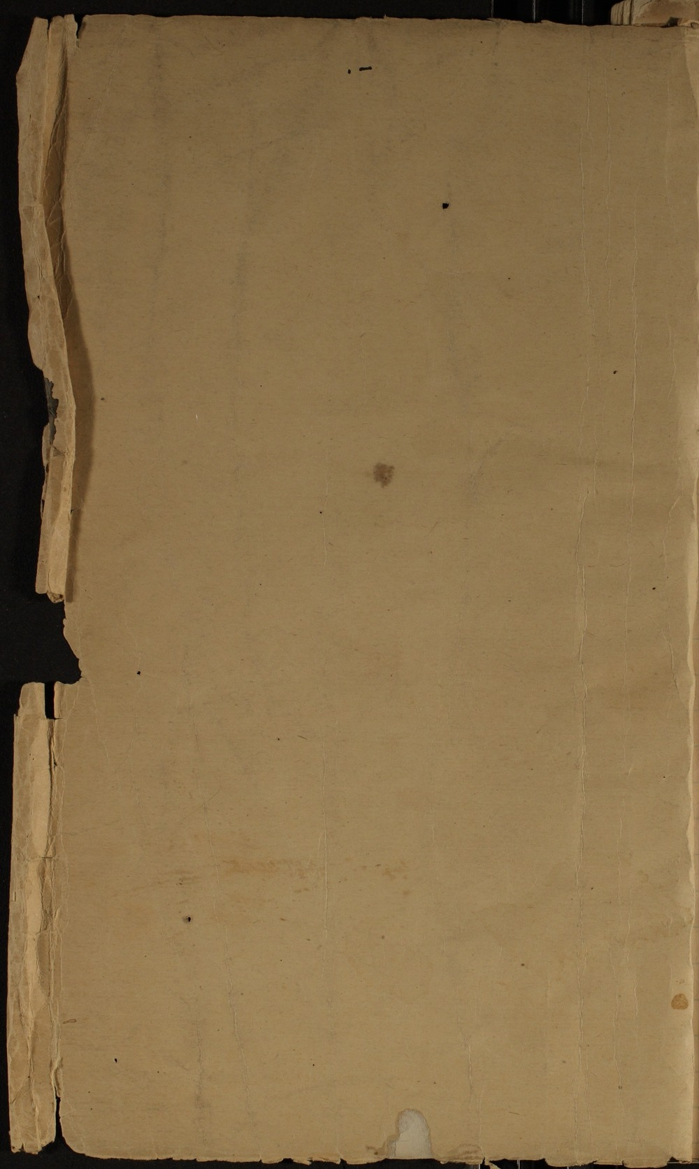 Samuel J. Reader's autobiography, volume 1 - Inside Front Cover