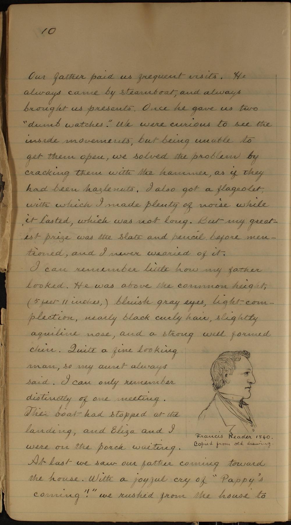 Samuel J. Reader's autobiography, volume 1 - 10