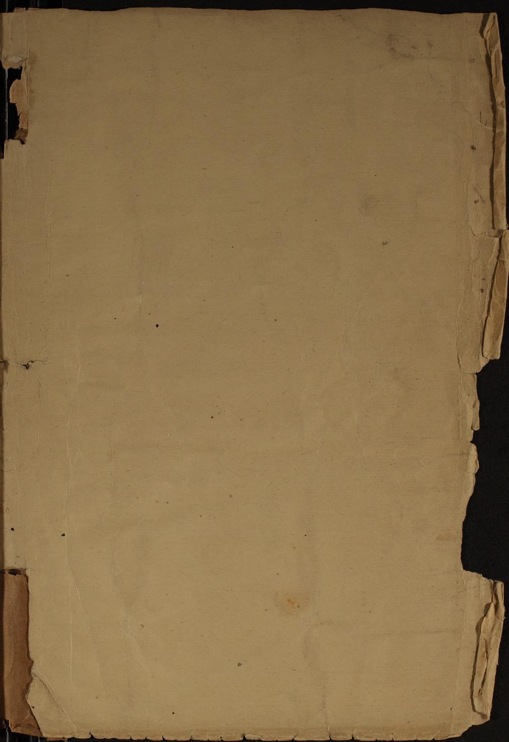 Samuel J. Reader's autobiography, volume 1 - Inside Back Cover