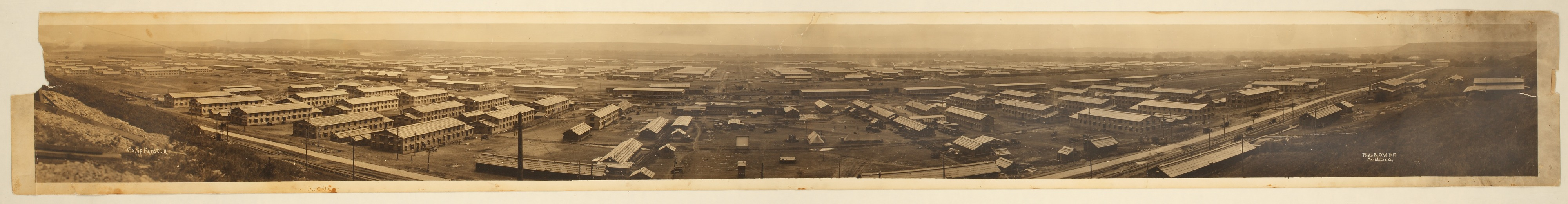 Camp Funston, Fort Riley, Kansas - 1