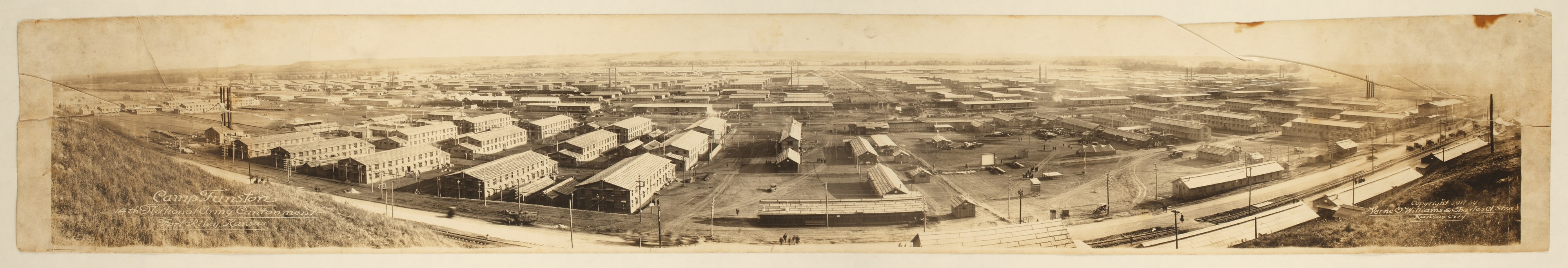 Camp Funston, 14th National Army Cantonment, Fort Riley, Kansas - 1