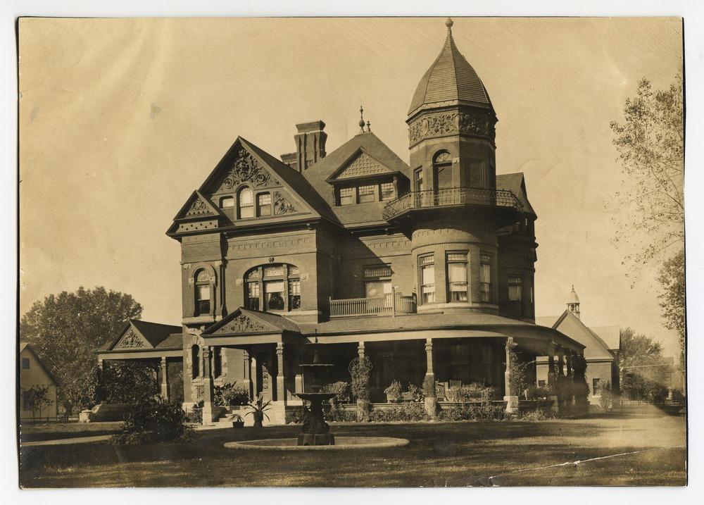 Erasmus Bennett home, Topeka, Kansas