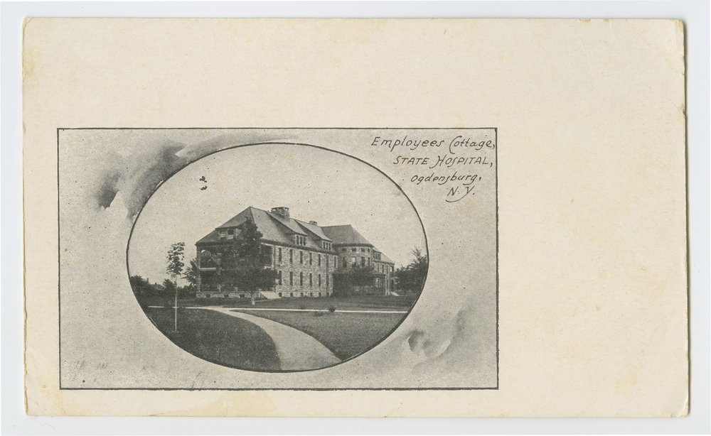 Employees cottage, State Hospital, Ogdensburg, New York