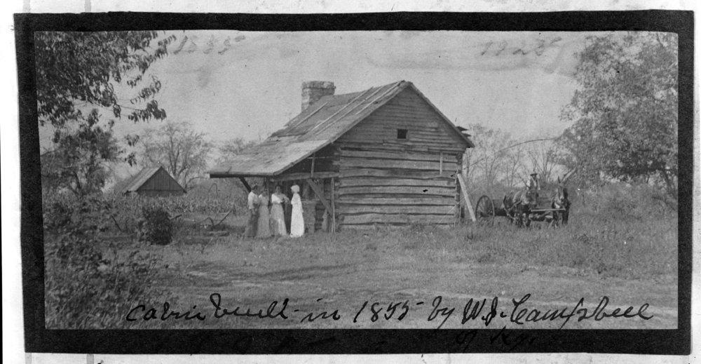 W.J. Campbell residence in Allen County, Kansas - *1