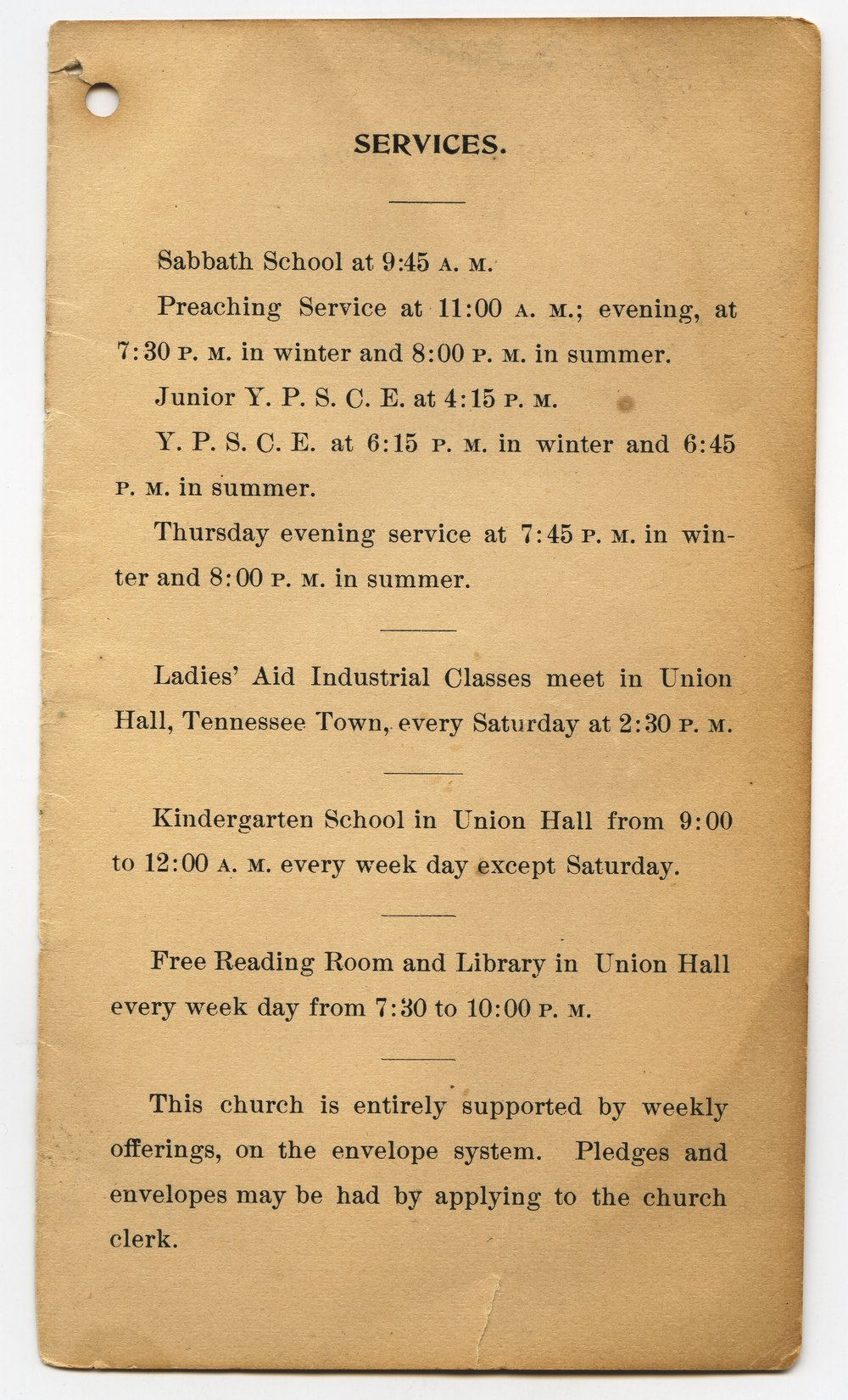 Central Congregational Church directory of members - 3