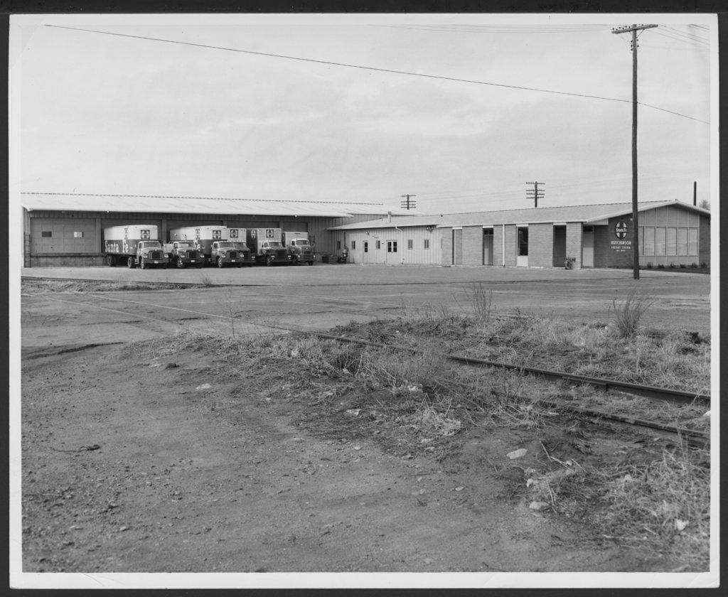 Atchison, Topeka and Santa Fe Railway Company's freight depot, Hutchinson, Kansas