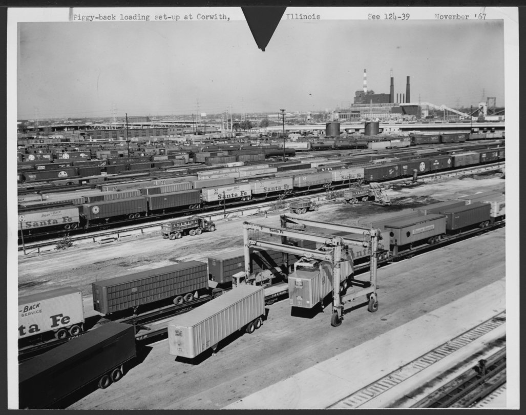 Atchison, Topeka & Santa Fe Railway Company's Corwith Yards, Chicago, Illinois - 1