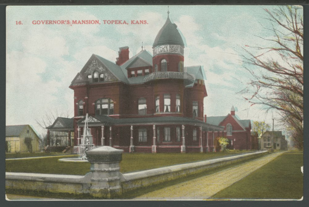 Erasmus Bennett home, Topeka, Kansas - 1