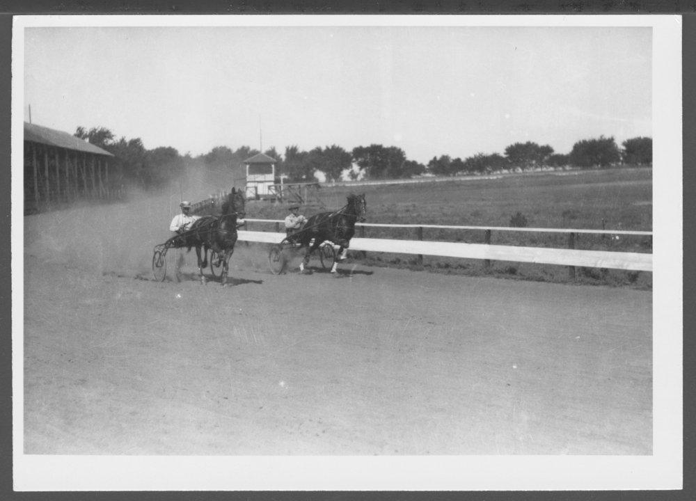 Sulky racing, Anthony, Kansas