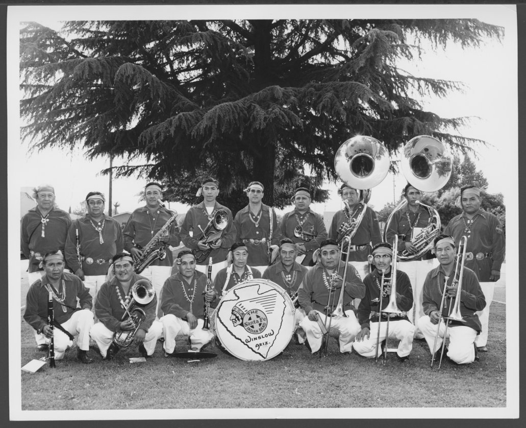 Atchison, Topeka and Santa Fe Railway Company band - 1
