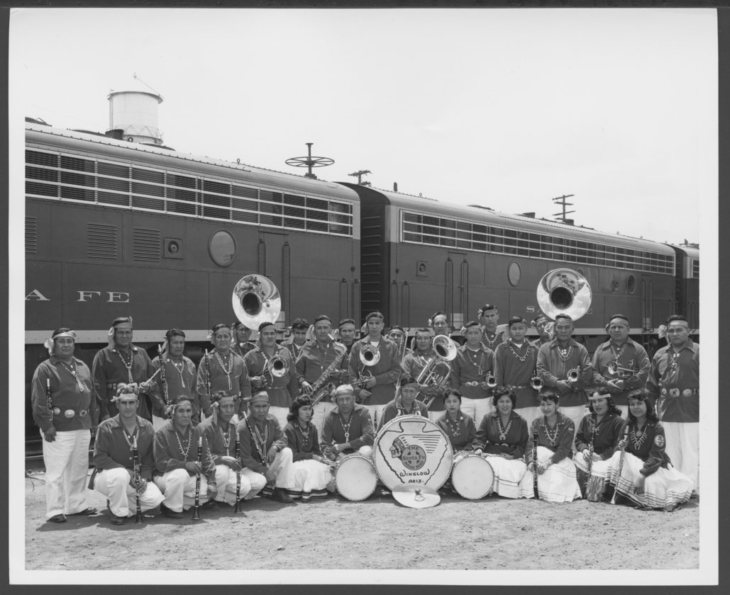 Atchison, Topeka an Santa Fe Railway Company band - 1