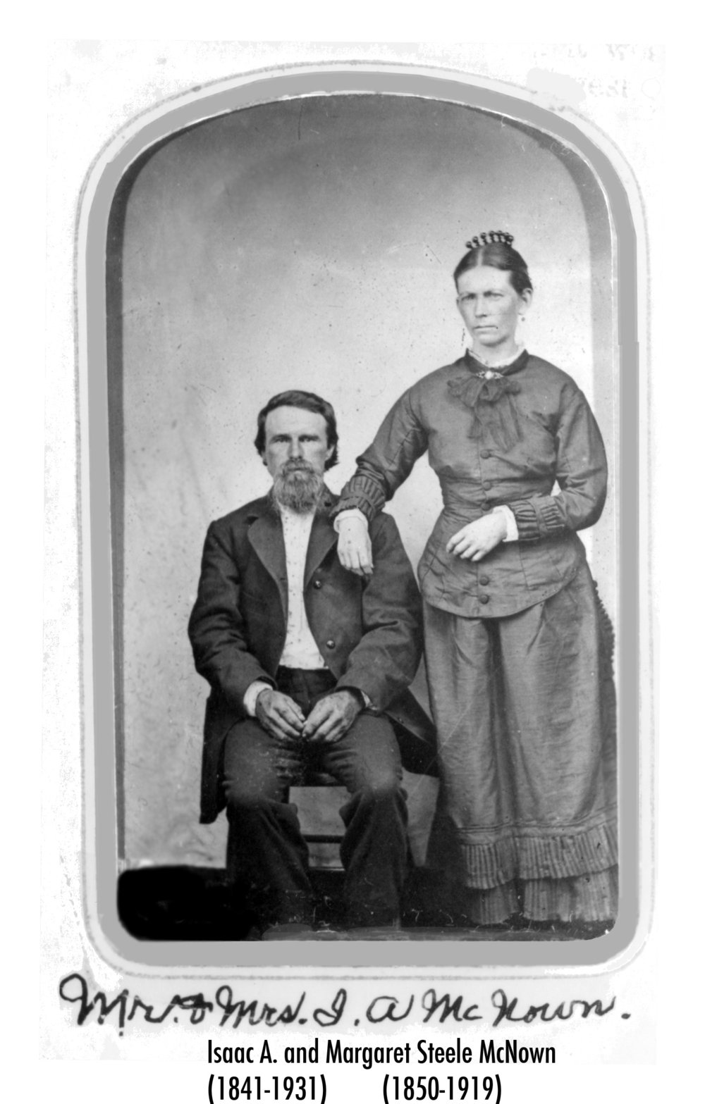 Isaac Aldebert McNown and Margaret Steele McNown