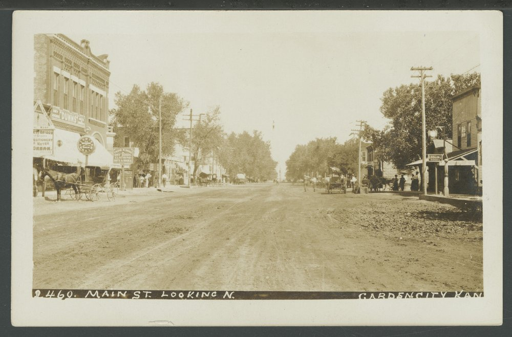 Main street in Garden City, Kansas - 3