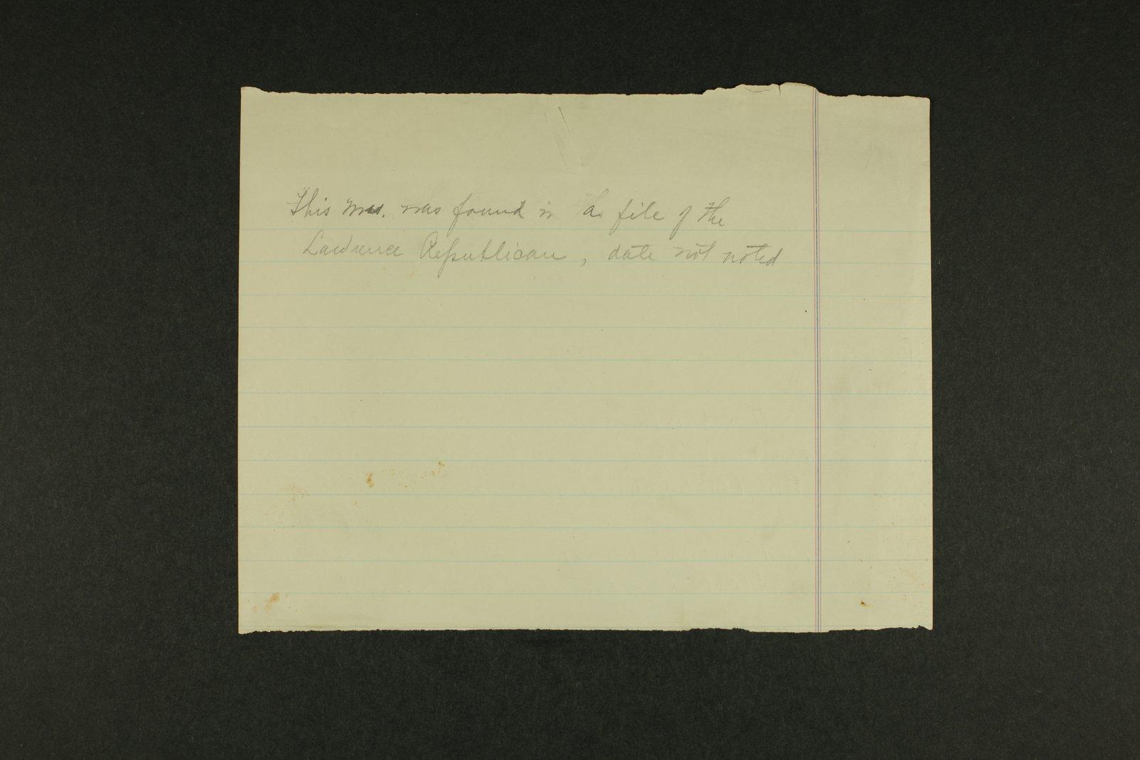 Temperance history correspondence - 12