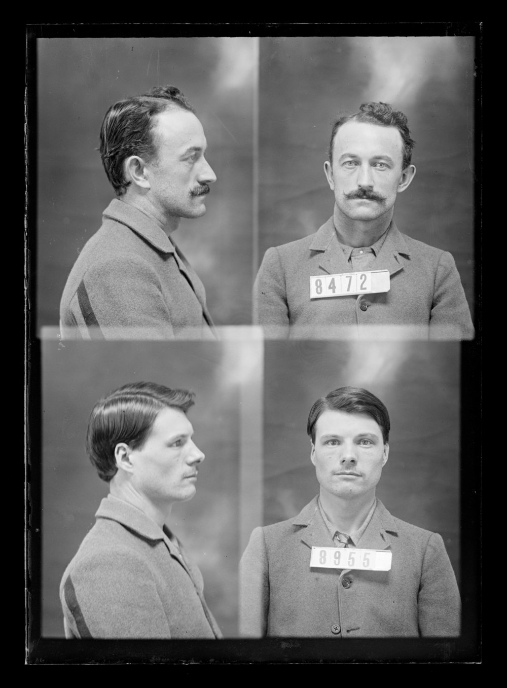Lee Case and Stonewall Shacklett, prisoners 8955 and 8472