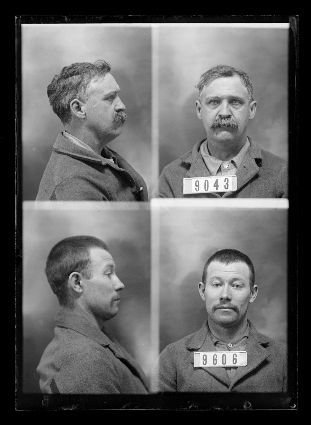 James Pabst and Steve Elliott, prisoners 9606 and 9043