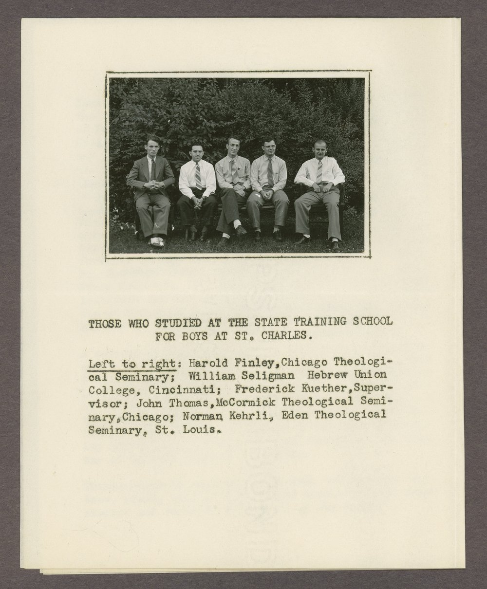 Anton T. Boisen papers - 2