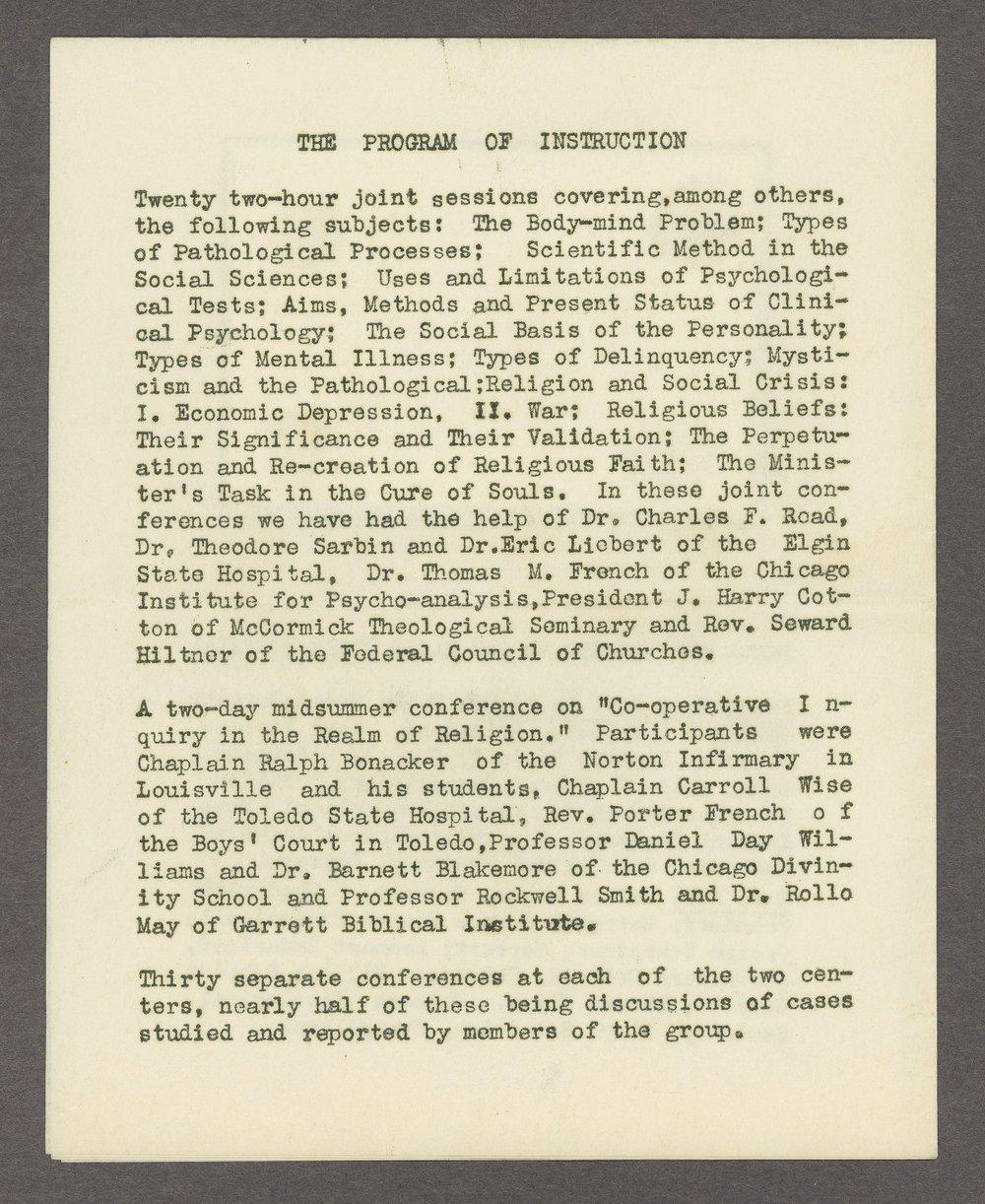 Anton T. Boisen papers - 4