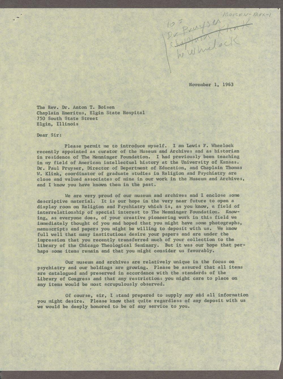 Anton T. Boisen papers - 11