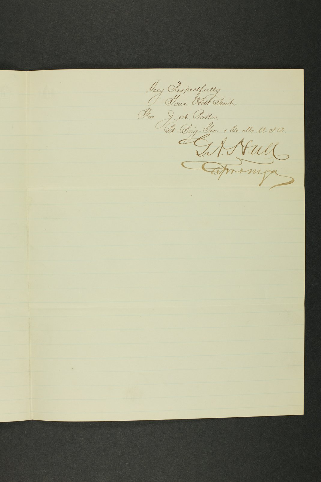 Kansas Adjutant General general correspondence, 1870 - 9