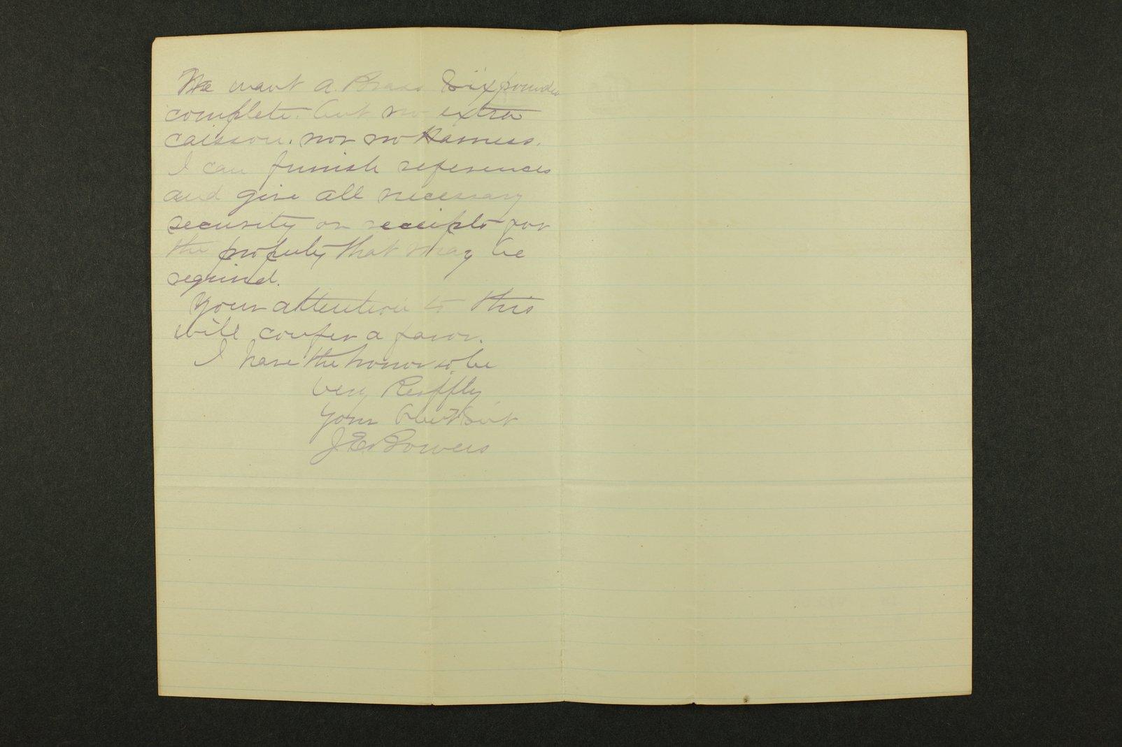 Kansas Adjutant General general correspondence, 1871 - 7