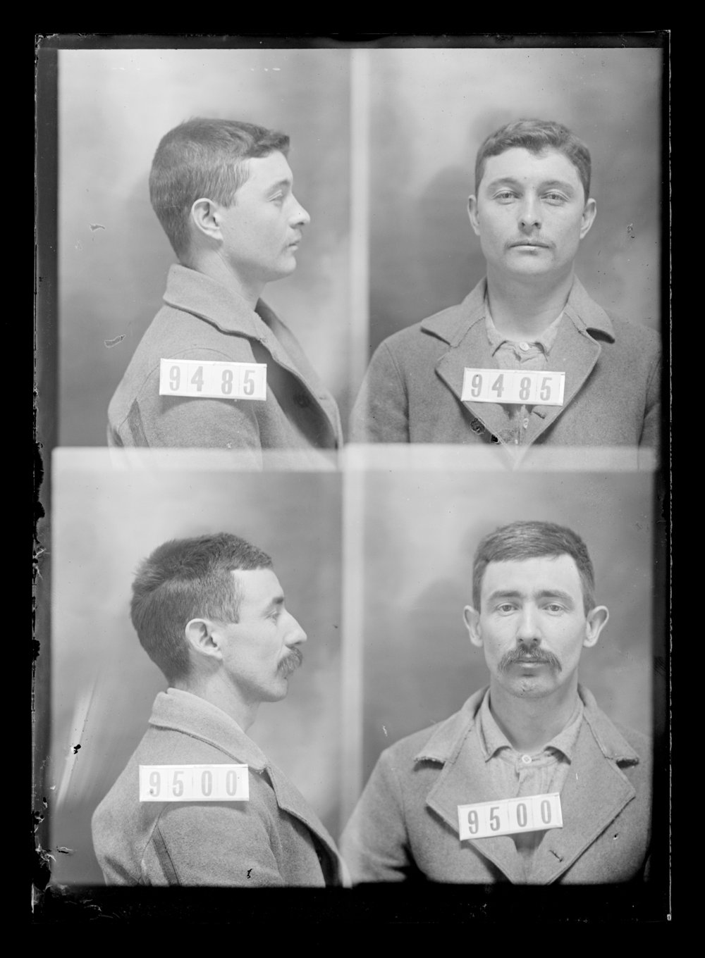 John L. Finley and George Sherrow, prisoners 9485 and 9500