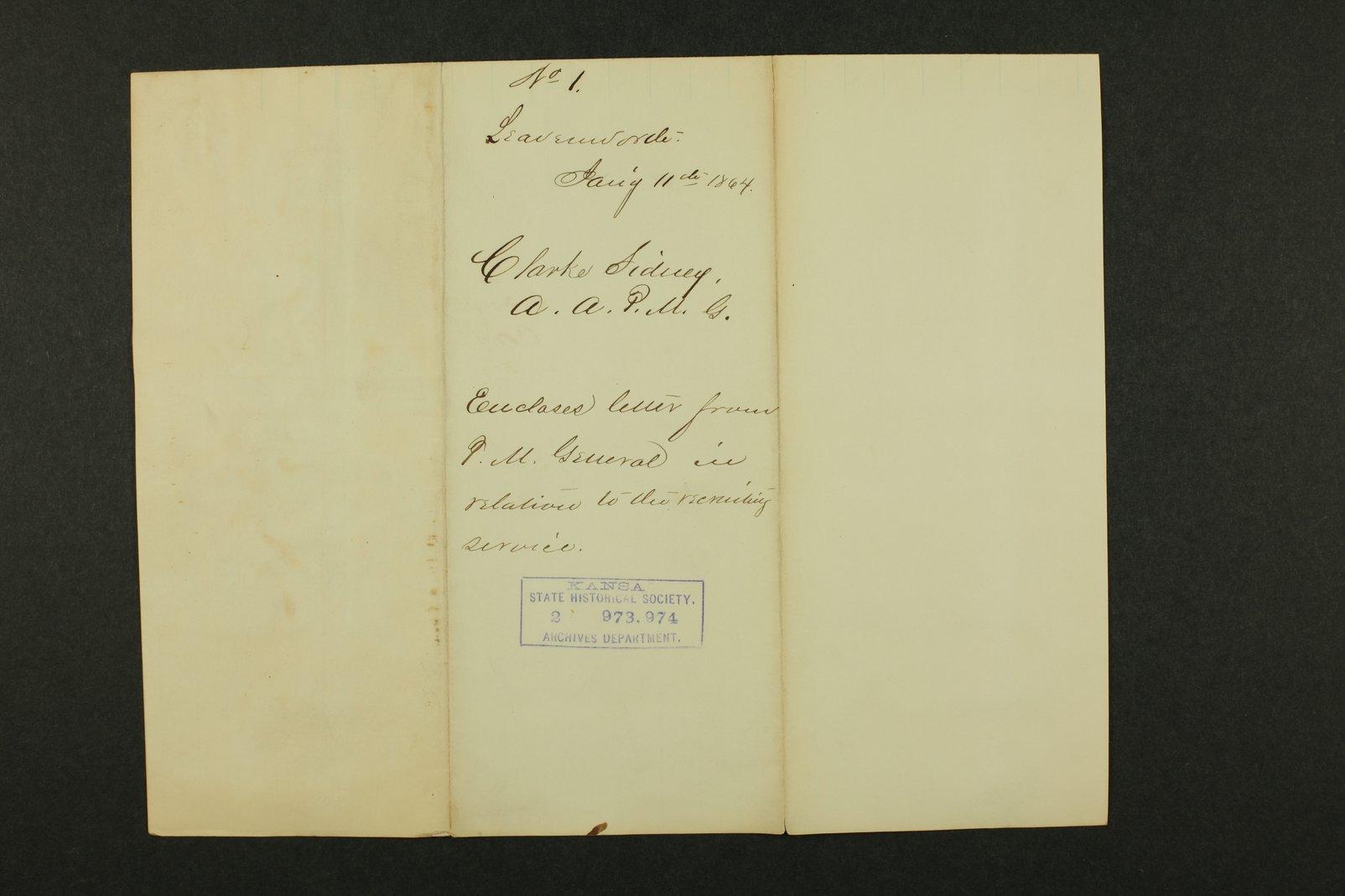Kansas Adjutant General general correspondence - 2