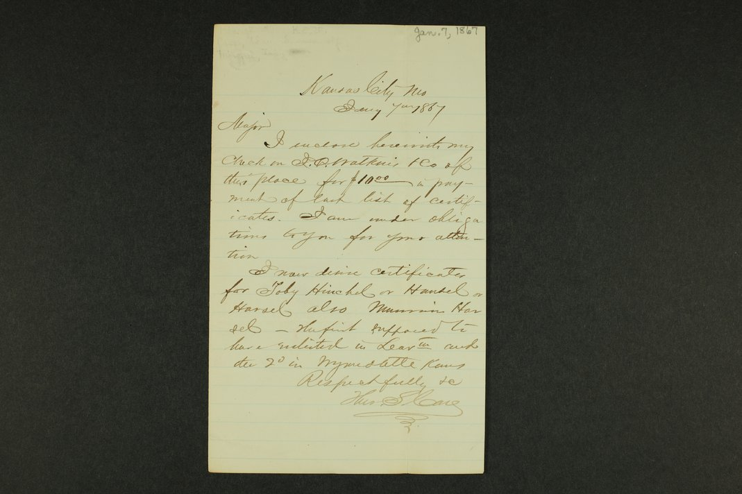 Kansas Adjutant General general correspondence - 5