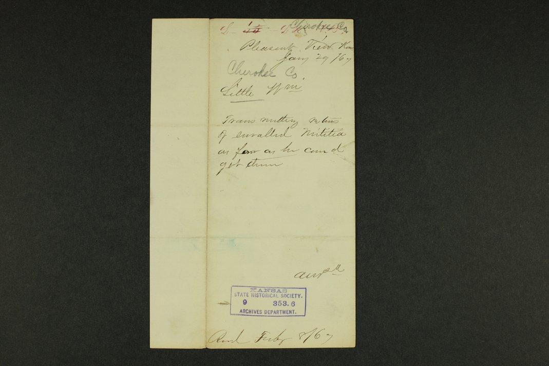 Kansas Adjutant General general correspondence - 11