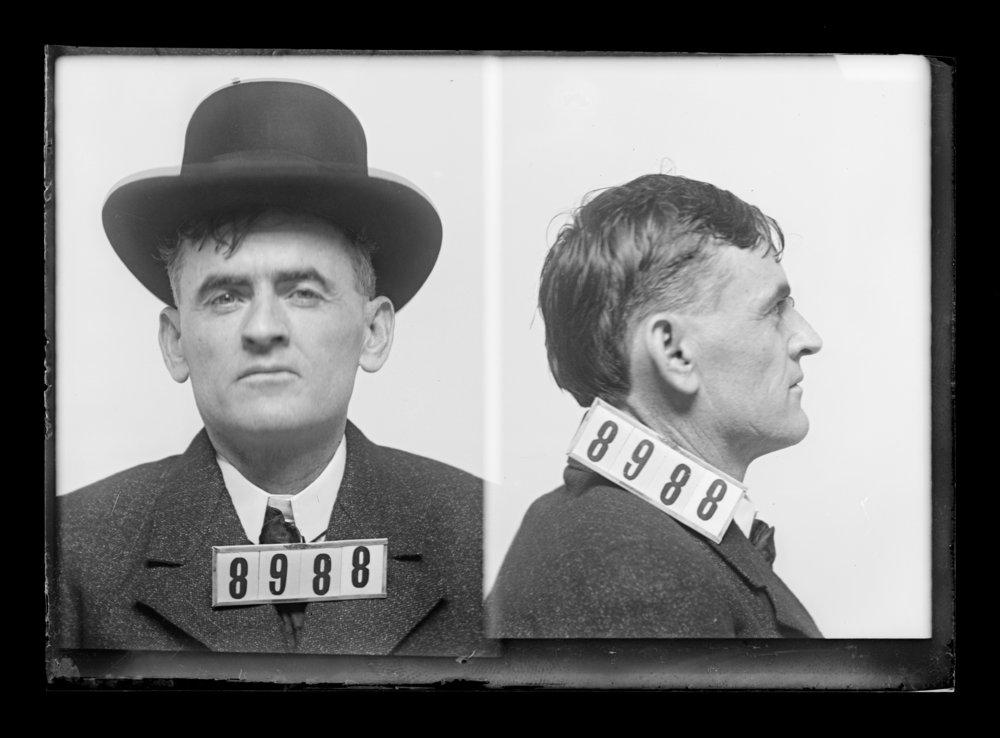 Bert Williams and Frank Adams, prisoners 8406 and 8988, Kansas State Penitentiary - 2