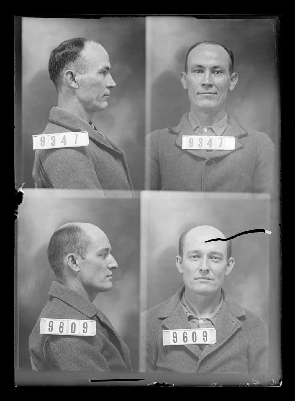 Lina A. Gray and William Tackett, prisoners 9347 and 9609