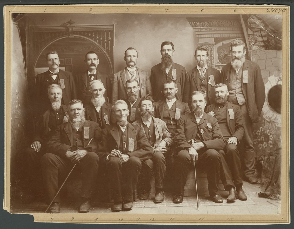 Members of the 6th Kansas Volunteer Cavalry, Company B - 1