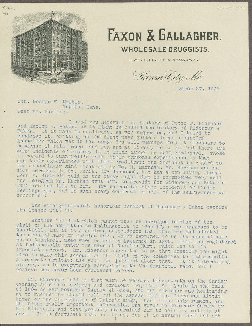 James C. Horton correspondence - 6