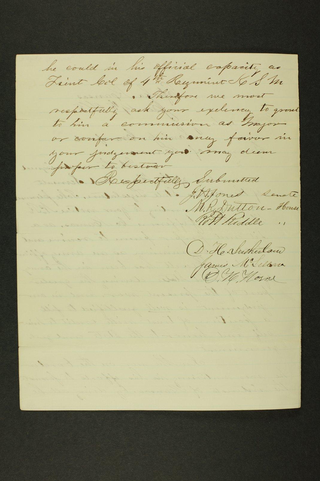 Kansas Adjutant General general correspondence - 10