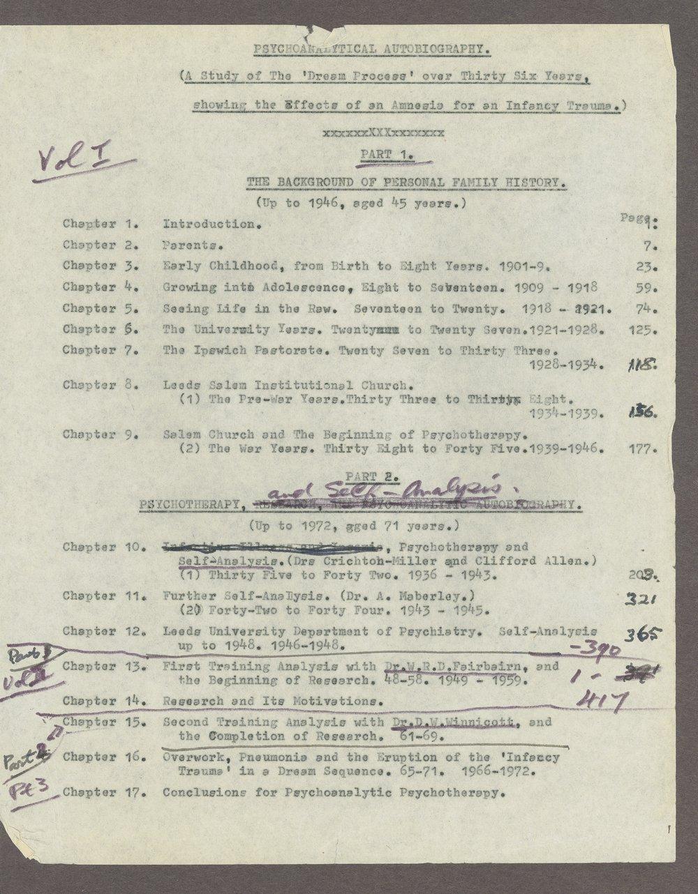 Harry Guntrip manuscripts - 3