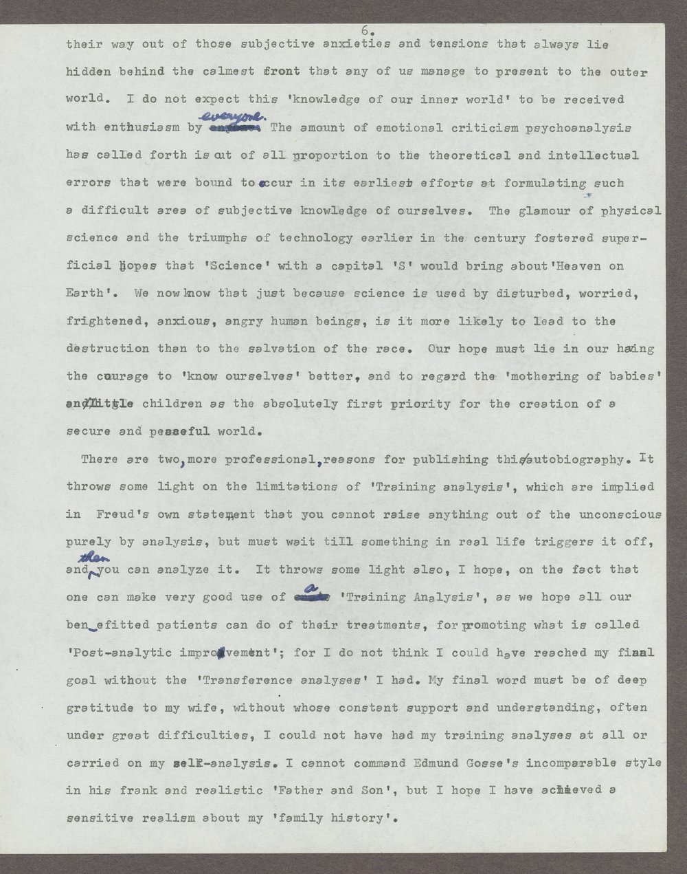 Harry Guntrip manuscripts - 9