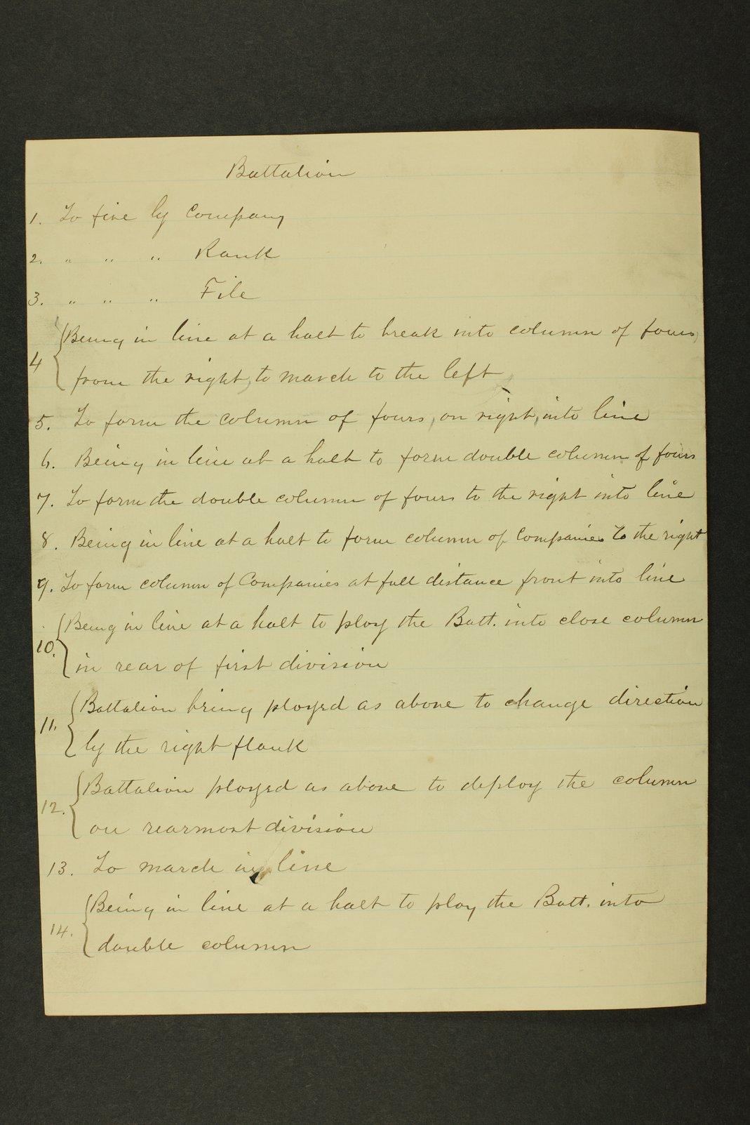 Kansas Adjutant General miscellaneous correpondence - 1 [January - May 1886]