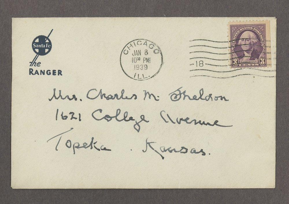 Mary M. Sheldon correspondence - 4