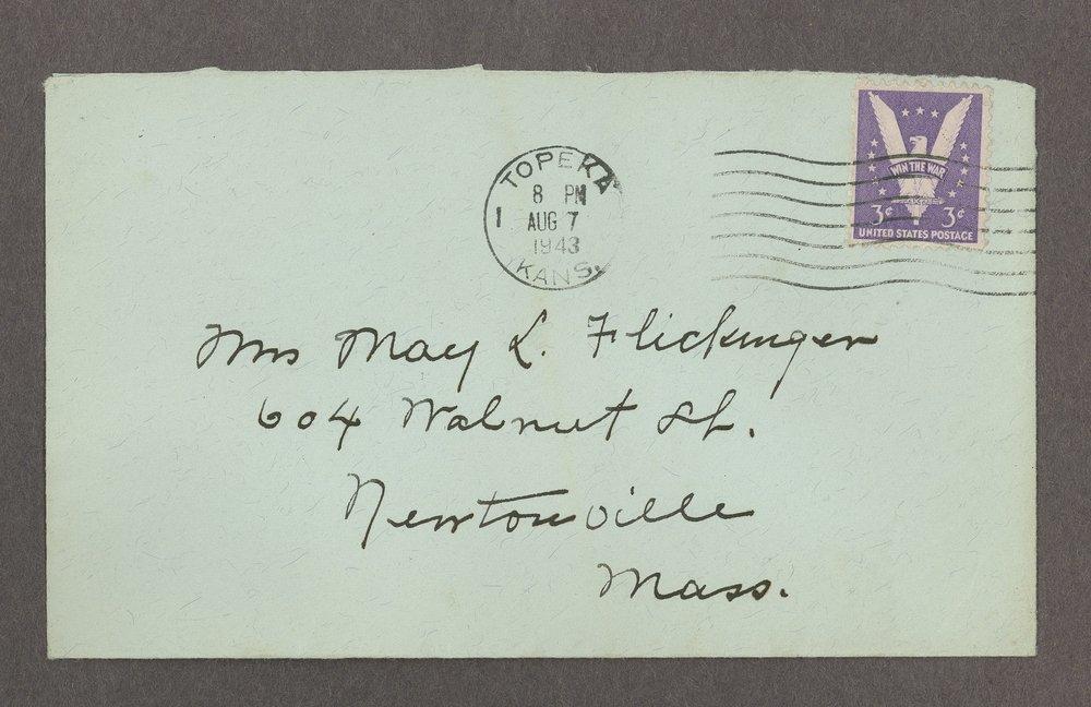 Mary M. Sheldon correspondence - 8