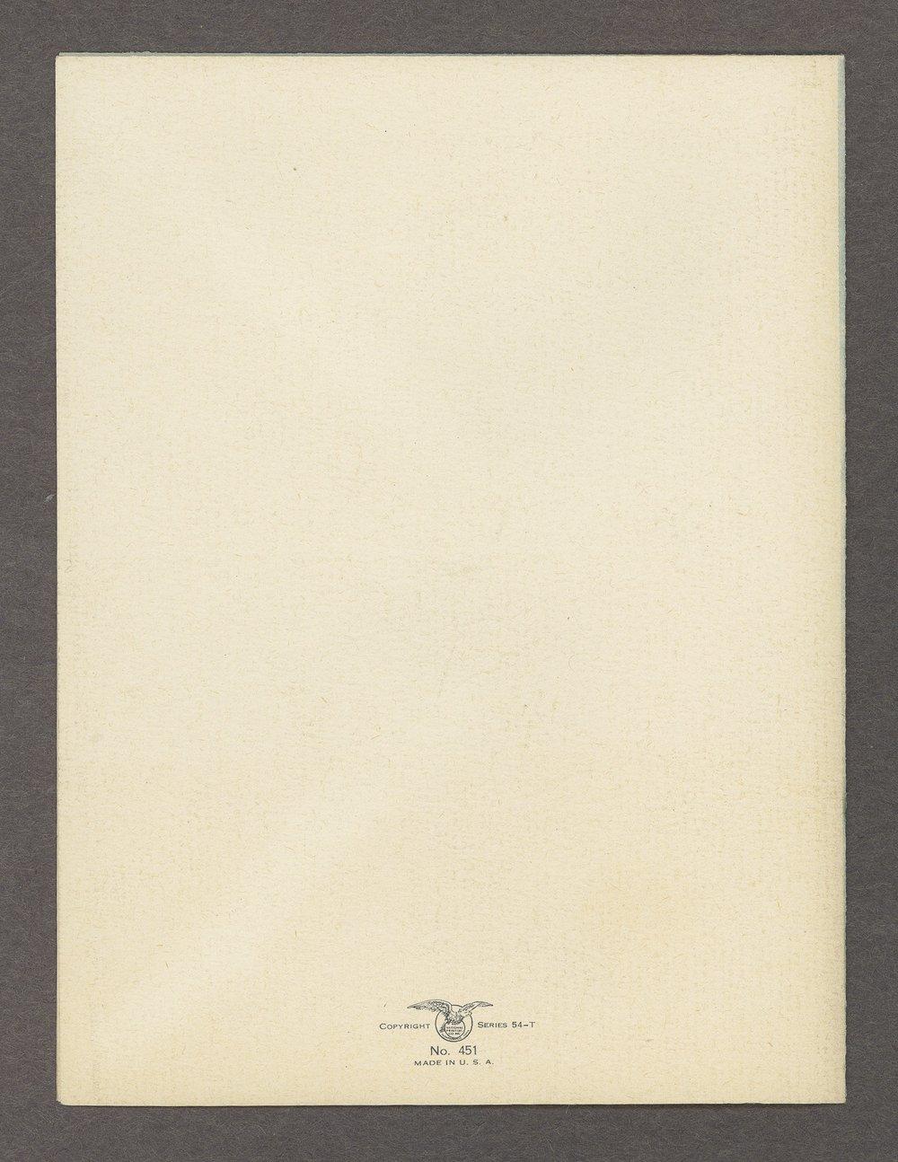Mary M. Sheldon correspondence - 31