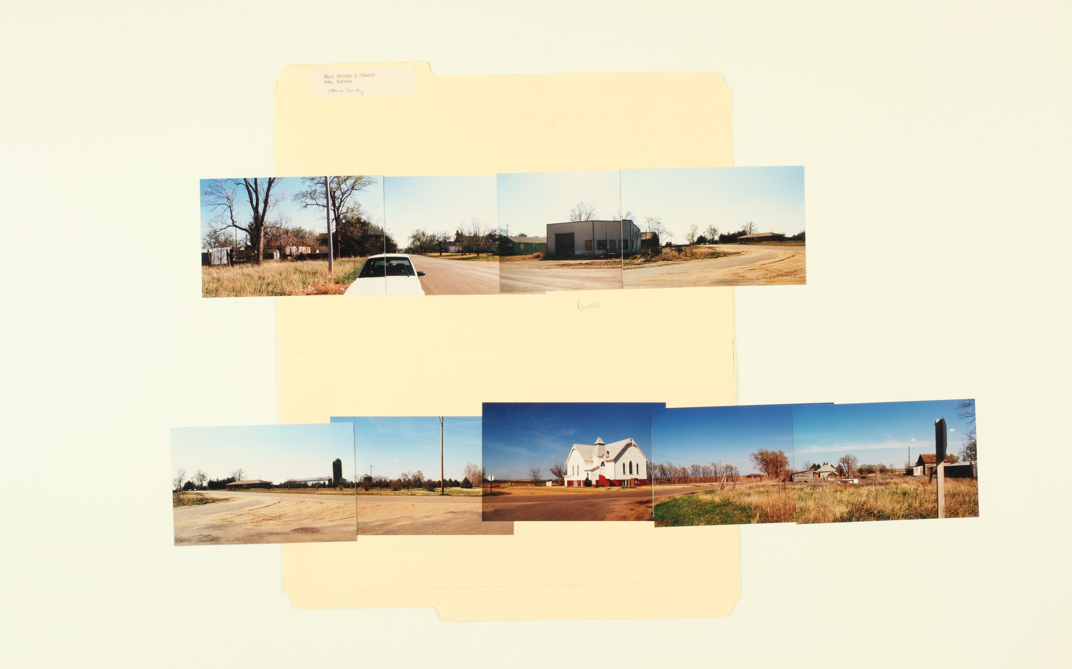 Kansas Film Commission site photographs, towns Ada - Bunker Hill - 3