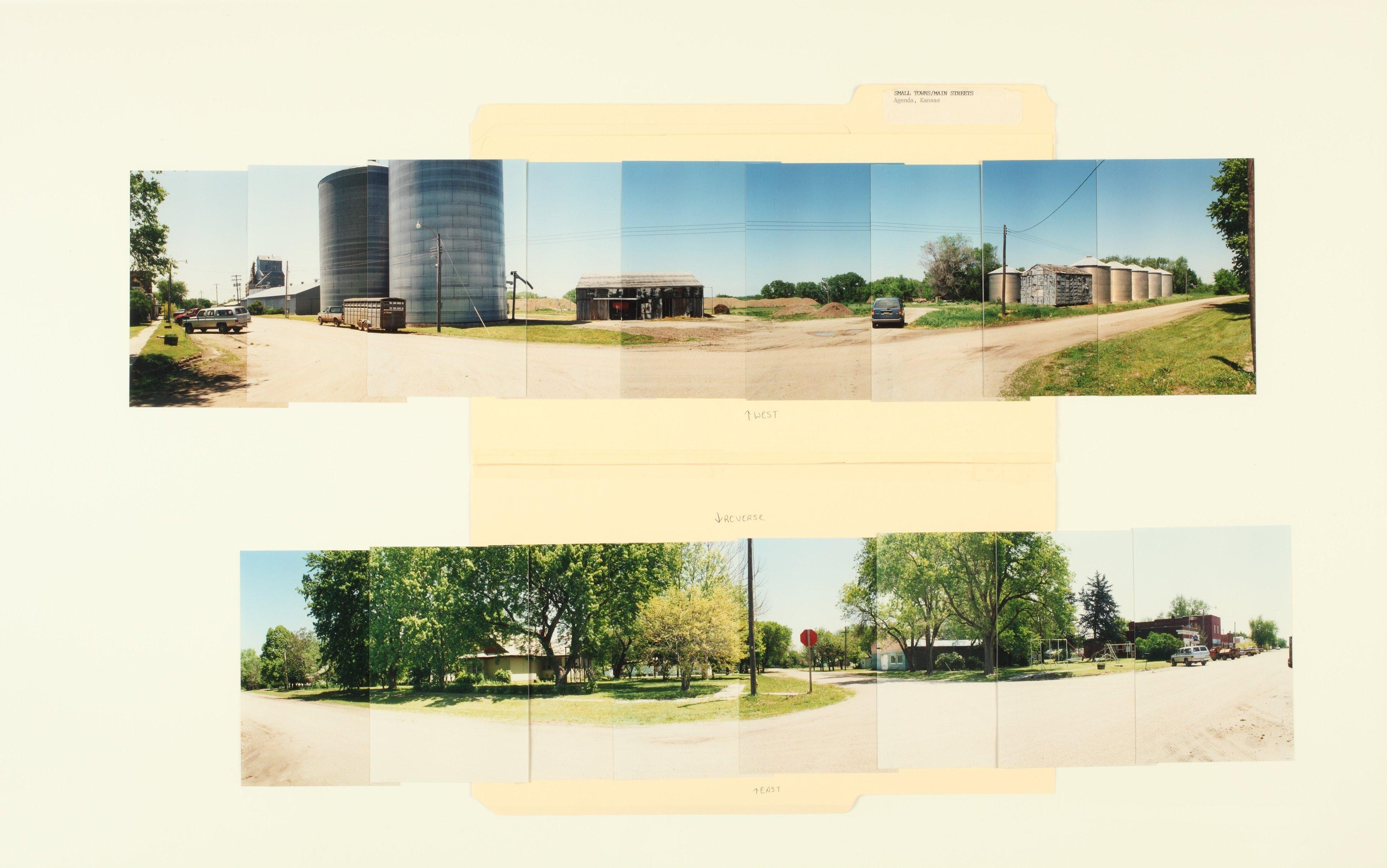 Kansas Film Commission site photographs, towns Ada - Bunker Hill - 6