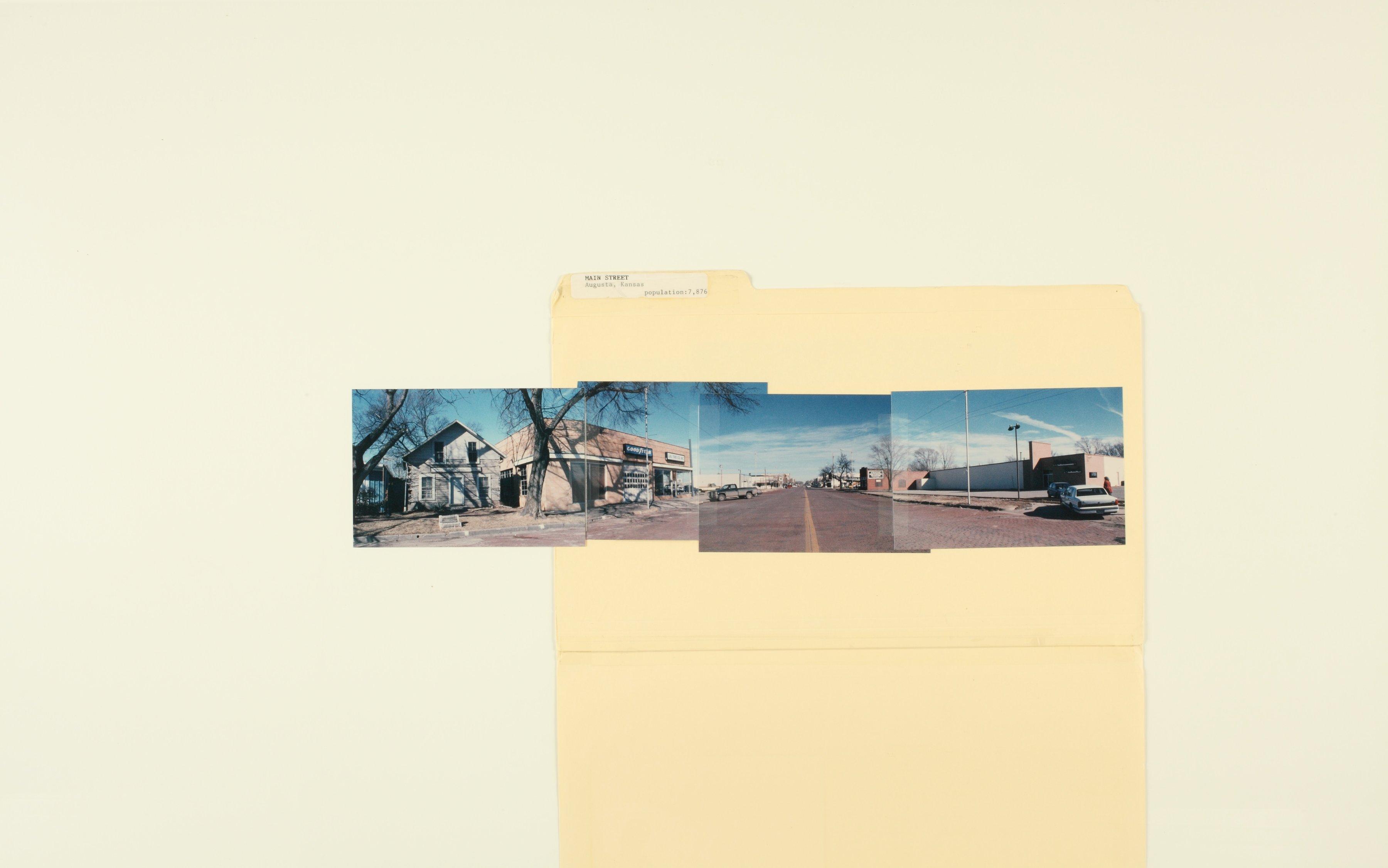 Kansas Film Commission site photographs, towns Ada - Bunker Hill - 10
