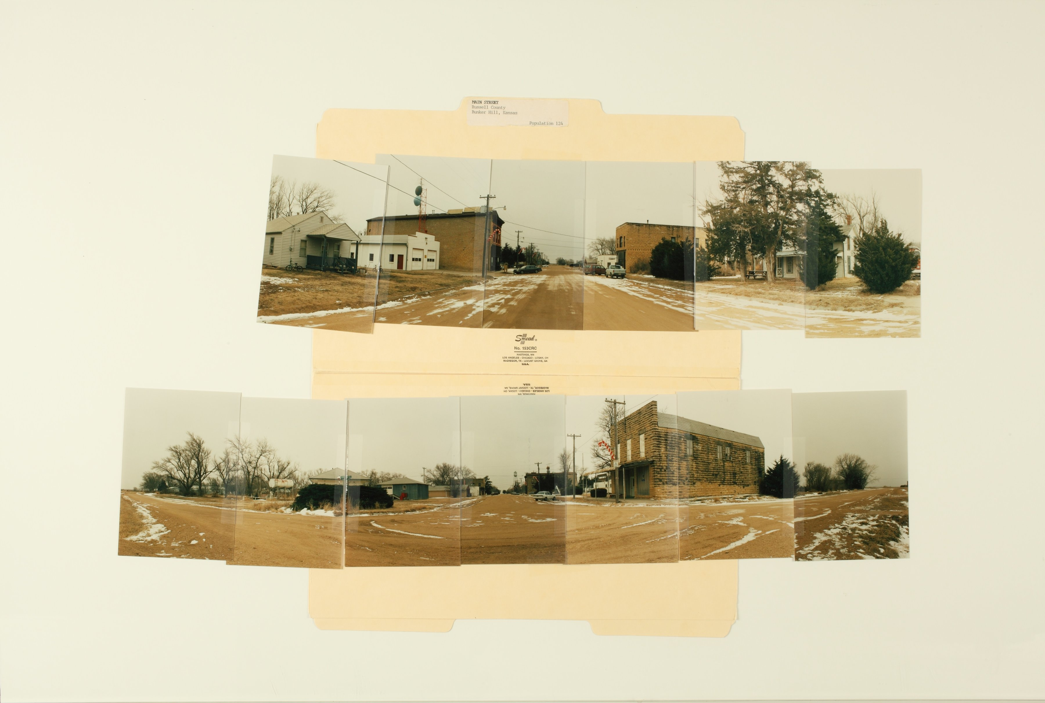 Kansas Film Commission site photographs, towns Ada - Bunker Hill - 245